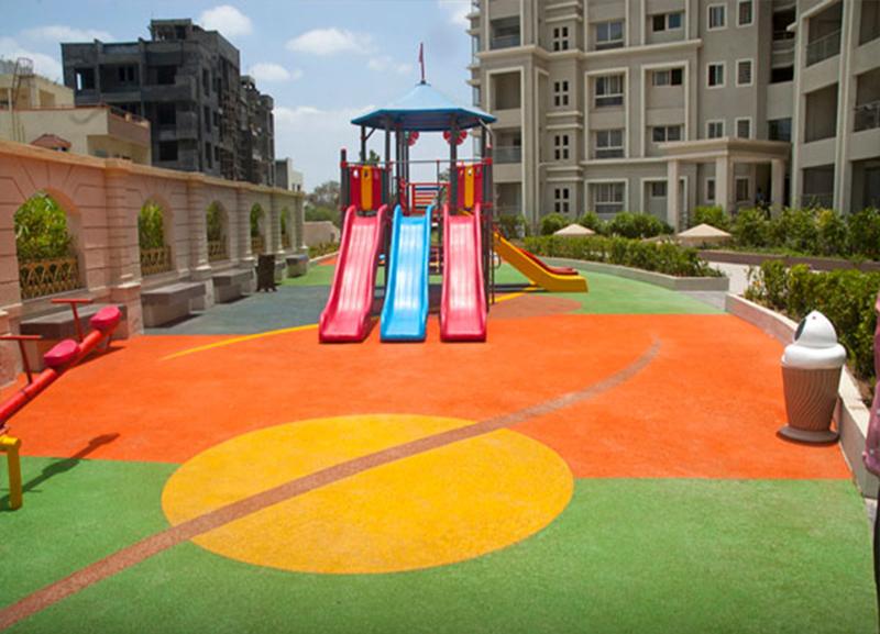 AEROFLEX SPORTS FLOORINGS - Children's indoor play area flooring