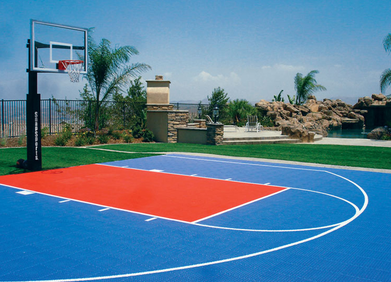 Aeroflex sports floorings for How big is a basketball court